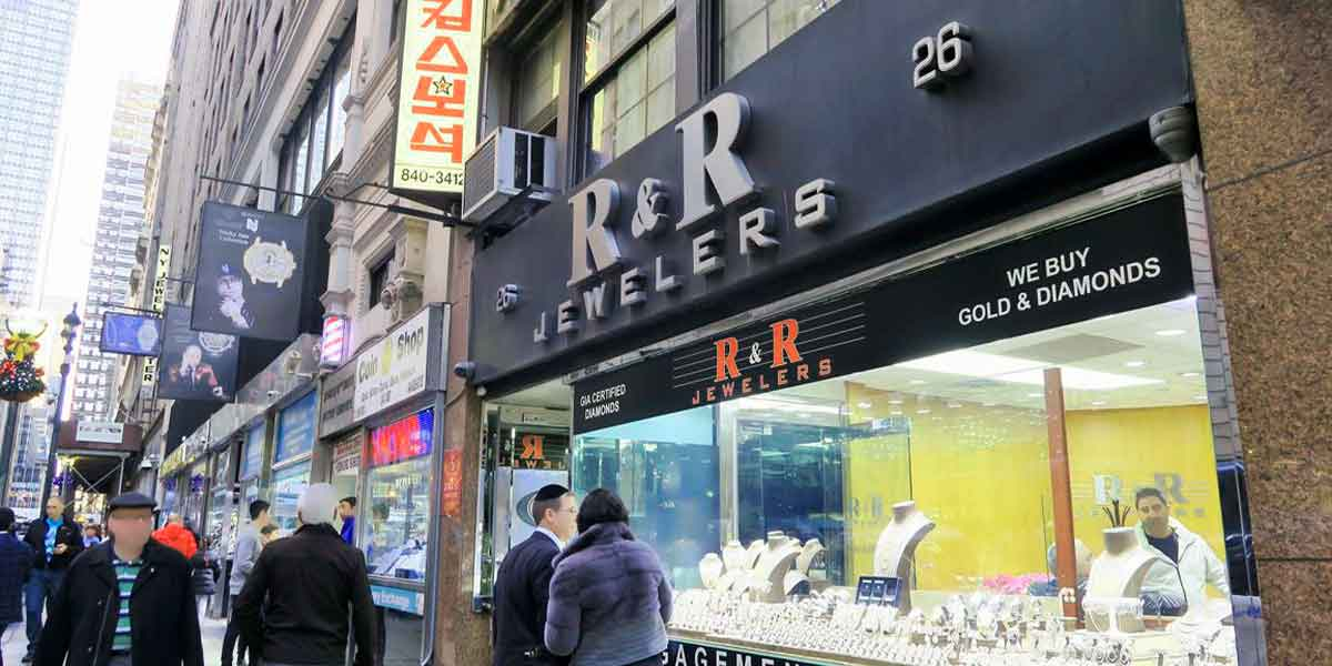 Buying jewelry in New York City